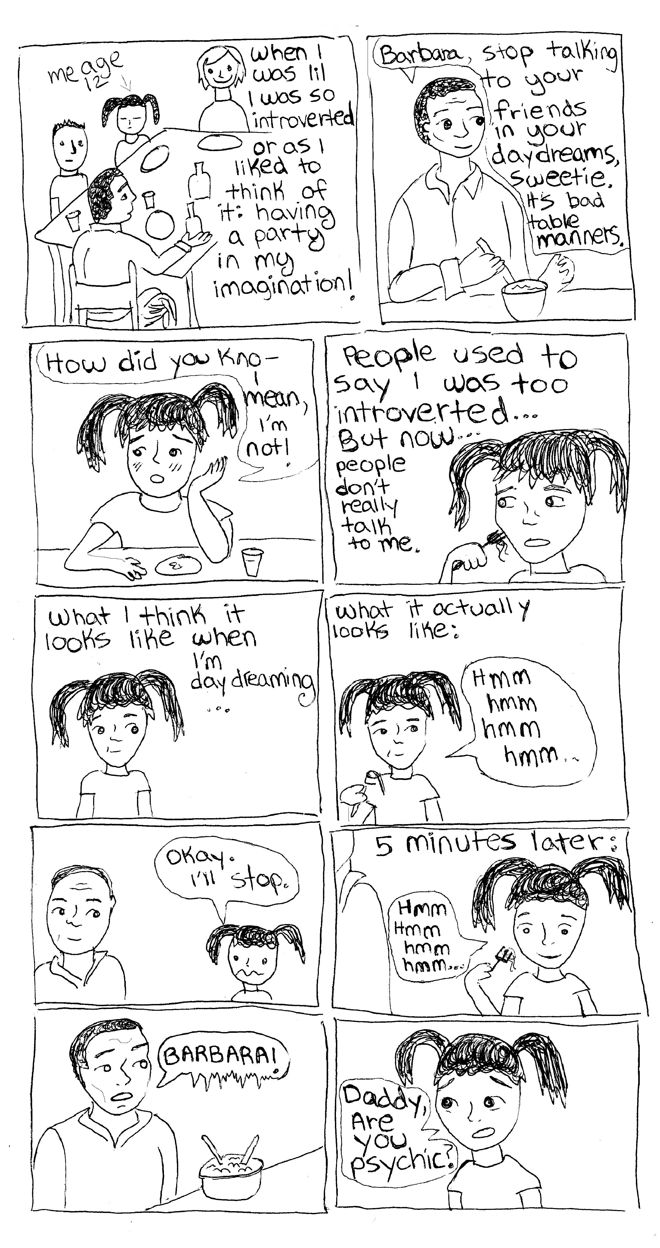 Daydreaming Introvert